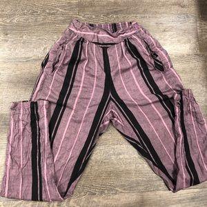 VTG Lightweight Pink/Black Pants